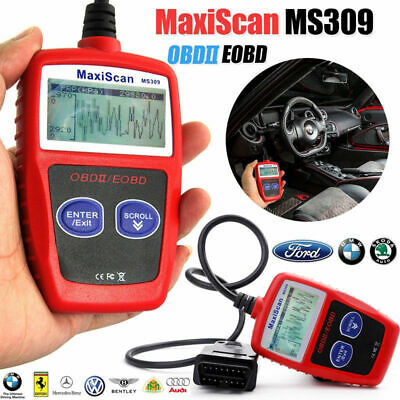 Fault Code Reader Scanner Car Engine Diagnostic Reset Tool OBD 2 CAN Bus EOBD UK