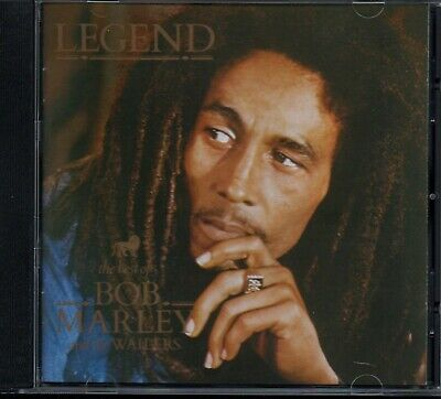 BOB MARLEY AND THE WAILERS - Legend (Best Of) - CD Album *Remastered* *Hits*