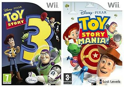 Wii - Disney Pixar Toy Story - Same Day Dispatched - Boxed - *Multi Listing*