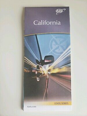 California State Map 2019 AAA Roadmap Free Shipping