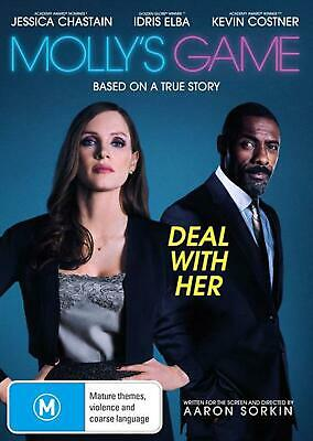 Molly's Game - DVD Region 4 Free Shipping!