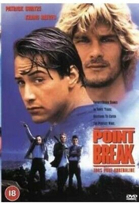 Point Break DVD (2003) Patrick Swayze New & Sealed - Free P&P