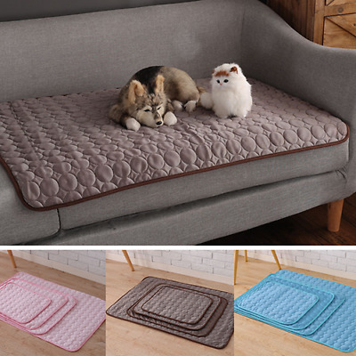 Dog Cooling Mat Blanket Pet Ice Pad Bed Cat Cushion Summer for Dog Cat Accessory