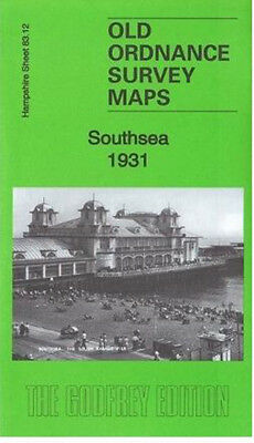 Old Ordnance Survey Map Southsea 1931