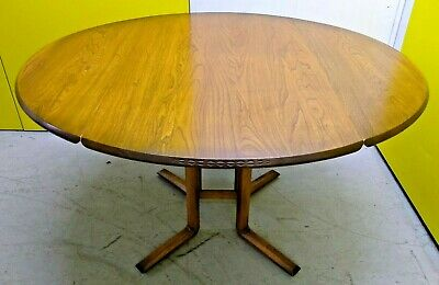 Vintage Mid Century Ercol Drop Leaf Dining Table - Kitchen Retro Furniture