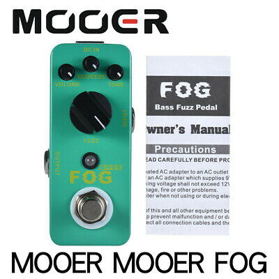 MOOER GRAPHIC B 5-Band Bass Equalizer Pedal for Bass Guitar