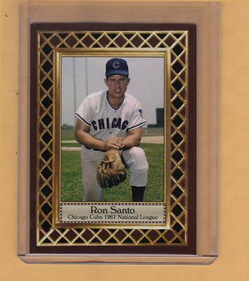 Ron Santo '61 Chicago Cubs rookie season, Fan Club serial numbered /300