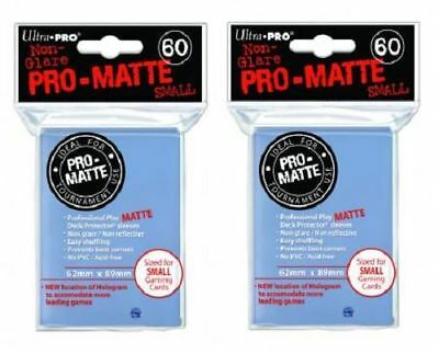 120 Ultra Pro Deck Protector Card Sleeves Pro Matte Clear Small Yugioh