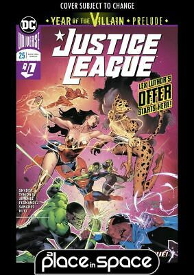Justice League, Vol. 3 #25A (Wk23)