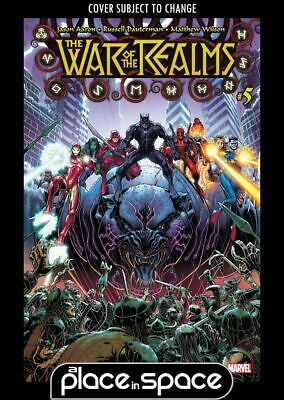 War Of The Realms #5A (Wk23)