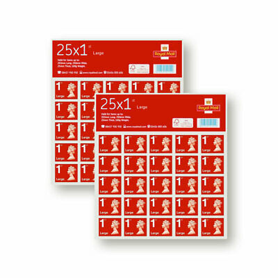 1st Class Large Letter Postage Stamps - Genuine Royal Mail Stamp - Fast Delivery