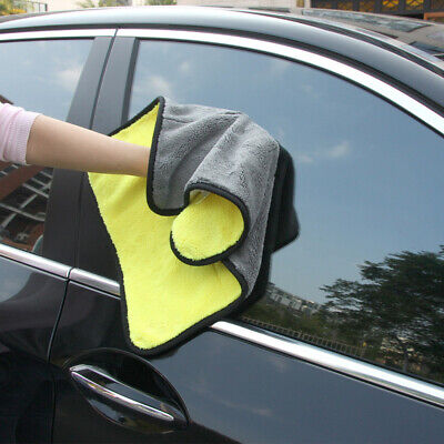 Microfiber Car Wash Towel Soft Super Absorbent Auto Cleaning Drying Clothes Hot
