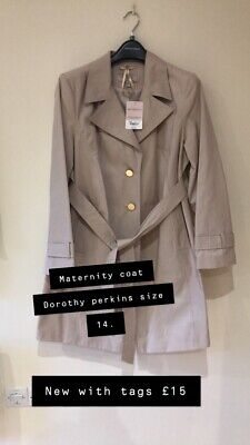 Dorothy Perkins Maternity Coat Size 14