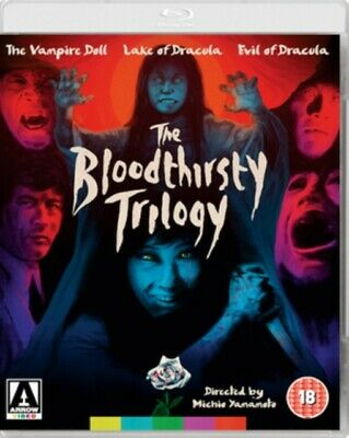 Nuevo The Bloodthirsty Trilogy Blu-Ray