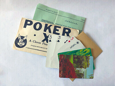 ALDINI MAGIC'S POKER-X / Vintage Magic Card Trick