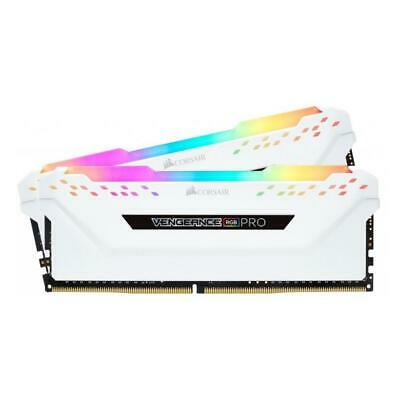 Corsair VENGEANCE RGB PRO 16GB (2x8GB) 3200MHz DDR4 White Desktop Memory Kit