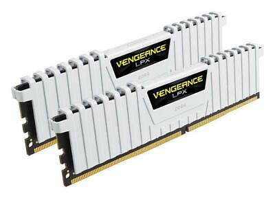Corsair Vengeance LPX 16GB 2X8GB DDR4 3000MHz Gaming Desktop Memory RAM Kit WHT