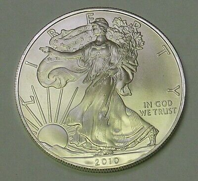 USA. 2010 Silver Dollar. Uncirculated and pretty.
