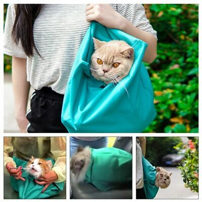 COMFY CAT TRAVEL POUCH Multi-function Sling Carrier Bag Travel Tote Soft Comfort