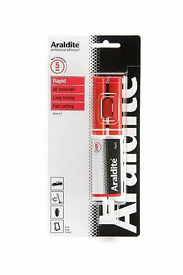 Araldite 400007 - Standard Rapid Epoxy Syringe Strong Adhesive 24ml