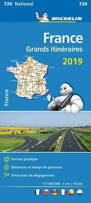 France Route Planning 2019 - Michelin National Map 726: Map by