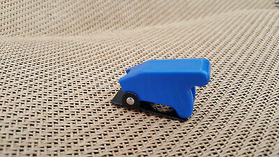 Toggle Switch Blue Safety Cover Guard Military Racing Car Boat Style 12mm Mount