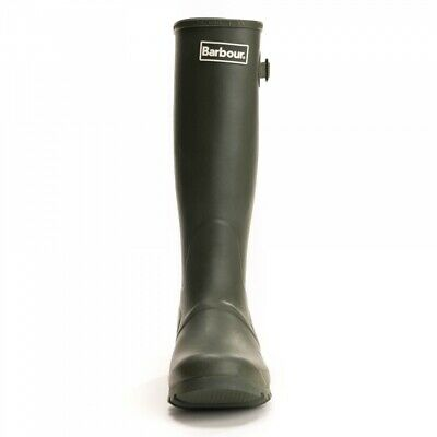 BARBOUR Mens Bede Wellington Boots Wellies Olive  NEW Size  UK 7 8  9 10  11