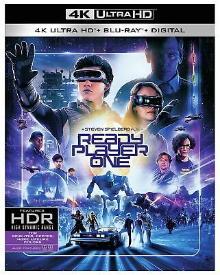 Ready Player One (4K Ultra HD / Blu-Ray / Digital) BRAND NEW UNOPENED SLIPCOVER