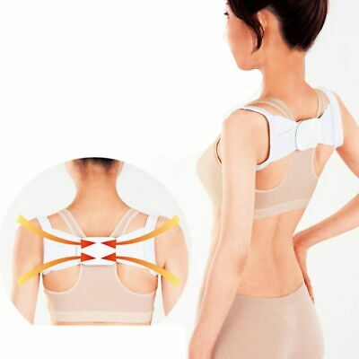 Convenient Back Posture Correction Shoulder Corrector Support Brace Belt Therapy