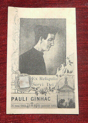Relic Of Father Paul Ginhac Jesuit Servant Of God, Visionary, Spiritual Guide