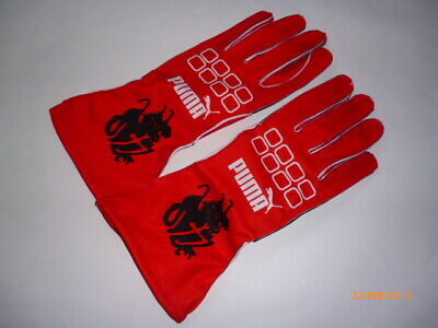 Michael Schumacher gloves  F1 fan / kart  design !!
