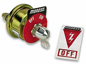 Moroso 74100 Battery Disconnect Switch 20 Amps