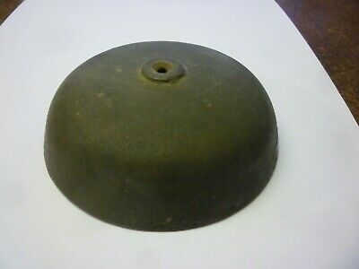 Antique Used Longcase Grandfather Or Bracket Clock Bell 4.25ins Diameter (RA2)