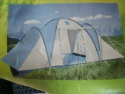 Jesolo Tent 4  berth Camping Dome Tent Hiking Festival Family Some Poles missing