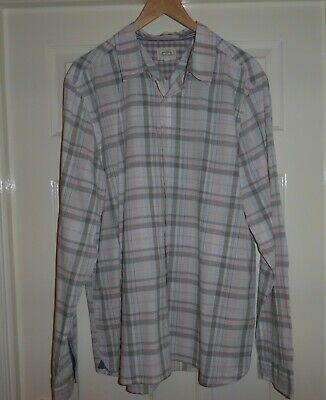 """Superb White Stuff Checked Cotton Relaxed Shirt , Mens Large 46"""" Chest"""