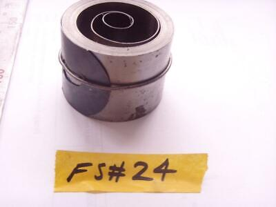 FS#24 fUSEE MOVEMENT CLOCK MAIN SPRING  / mainspring approx depth 41.1mm