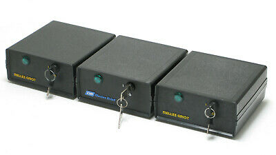 Assorted Melles Griot HeNe Laser Power Supplies, 3pc lot
