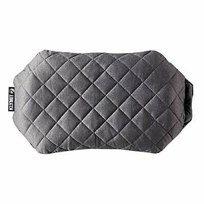 Klymit Luxe Camping Pillow Grey X-Large Outdoor Sleeping Gear