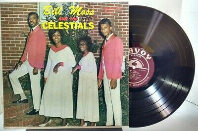 Bill Moss and the Celestials - Self Titled - SAVOY RECORDS MG-14187