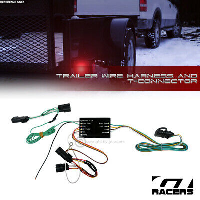 EDGE FLEX ESCAPE OEM Genuine Ford Trailer Towing Wiring Harness Kit  And Pin Wiring Harness Ford Flex on
