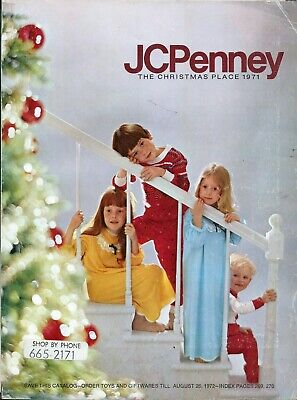 1971 The Christmas Place Jc Penney '71 Christmas Catalog Penneys