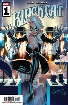 Black Cat #1 J.scott Campbell Cover          060519