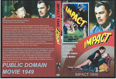 Impact DVD 1949 Brian Donlevy, Ella Raines DISC ONLY YOU CHOOSE SHIPPING