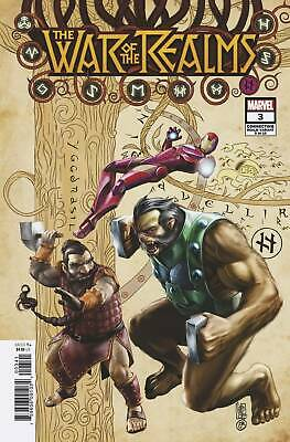 War of Realms 3 (of 6) Connecting Realm Variant (Giuseppe Camuncoli) - Marvel (U