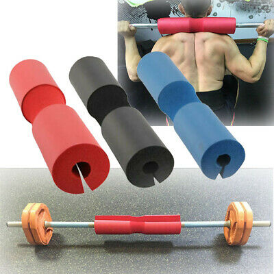 Barbell Pad Squat Bar Supports Weight Lifting Pull Up Neck Shoulder Protect 1pcs