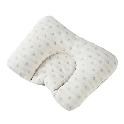 Baby Cot Soft Pillow Prevent Flat Head Cotton Cushion Sleeping Support LA