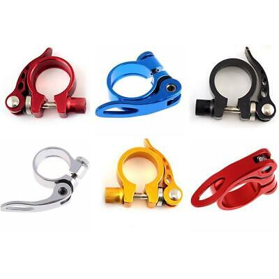 Red U.Z BIKE XON Quick Release SeatPost Clamp 31.8mm  QR-