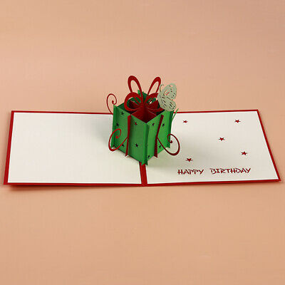 3D Insect Design Laser Cut Paper Greeting Card Wedding Party Invitation Cards BS