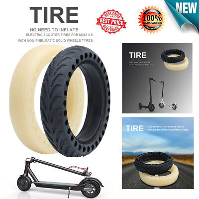 For Xiaomi Mijia M365 Electric Scooter Solid Outer Tire Wheel Inner Tube 8.5""
