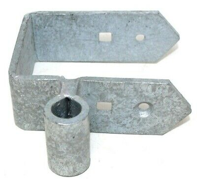 """5"""" (125mm) GATE BOTTOM BAND ONLY - FOR 3.5"""" FIELD GATES - GALVANISED STEEL"""